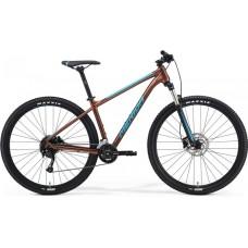 """Bicicleta Merida BIG NINE 2021 100-2X 29"""" S - M - L - Bronze (Azul)"""