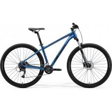 """Bicicleta Merida BIG NINE 60 2021 -2X 29"""" S - M - L - XL - Azul (Negro)"""