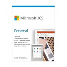 Microsoft 365 Personal 1 Usuario WR-EX-PP-OUT Descargable
