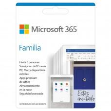 Microsoft 365 Familia 6 Usuarios- Descarga
