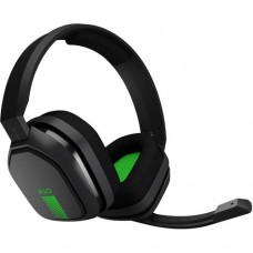 Headset Astro Gaming A10 PS4 - Gris - Verde