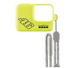 GoPro Hero 7 Funda y Cordón Ajustable - Amarillo Neon
