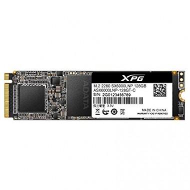 SSD M.2 XPG SX6000 Lite PCIe Gen3x - 128GB