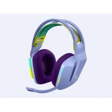 Headset Logitech Gaming G733 RGB inalámbrico - Lila