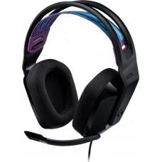 Headset Logitech Gaming G335 - Negro