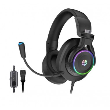 Headset HP Gaming H500GS Negro  7.1 RGB - USB