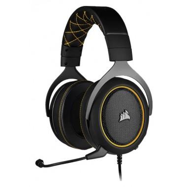 Headset Corsair Gaming HS60 Pro 7.1 3,5mm  - Amarillo
