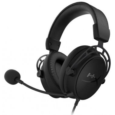 Headset HyperX Cloud Alpha S - BlackOut - 3.5mm-USB