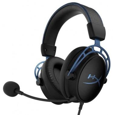 Headset HyperX Cloud Alpha S - Azul - 3.5mm-USB