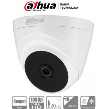 Cámara Dahua HDCVI Mini Domo 2.8MM - 3.6MM - 2MP - 20MTS - IR