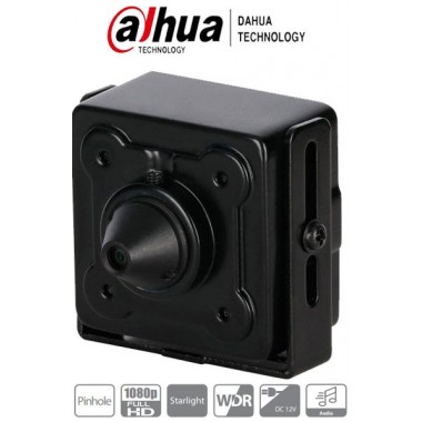 Cámara Dahua HDCVI Mini Pinhole 2.8MM - 2MP - Starlight