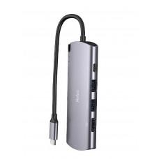 Netac WH41 Hub-Encapsulador M.2 Sata-NGFF USB-C -USB-A - HDMI - RJ45 - USB-C