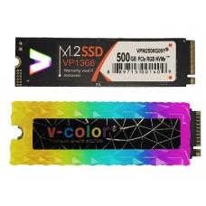SSD M.2 500GB V-Color PCIe RGB 2280 + Modulo RGB