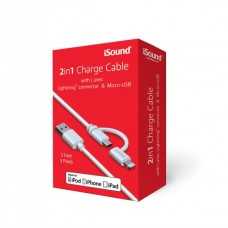CABLE ISOUND Micro USB + Lightning