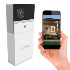 Timbre con Cámara  Logic Inteligente WiFi – Blanco