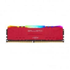 Memoria Ram Crucial Ballistix DDR4 8GB - 3200mhz Roja RGB