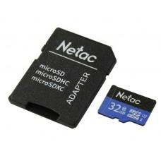 Memoria MicroSD 32GB Netac P500 Clase 10