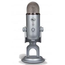 Micrófono Blue Yeti Profesional USB - Silver
