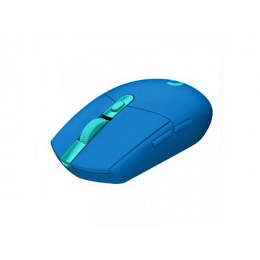 Mouse Logitech Gaming G305 Inalámbrico - Azul