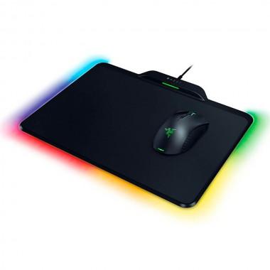 Mouse Razer Mamba HyperFlux inalámbrico - con MousePad Firefly HyperFlux RGB