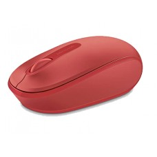 Mouse Microsoft Mobile 1850 Inalámbrico - Rojo