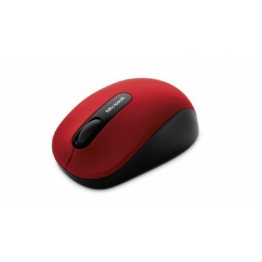 Mouse Microsoft Inalámbrico 3600 - Rojo