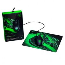 Combo Razer Mouse   Abyssus Lite + MousePad Goliathus