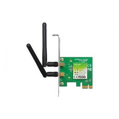 Tarjeta de red inalámbrica TP-LINK pci express 300N 2 antenas