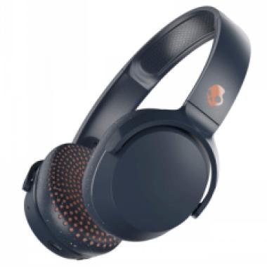 Audífonos Skullcandy Riff Bluetooth - Azul con Naranja