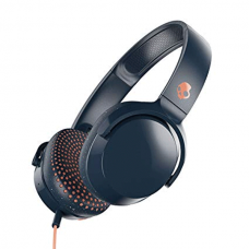 Audifonos - SkullCandy Riff One - Ear W/Tap Tech - Negro - Naranja