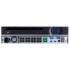 DVR 16-CH 1U 16PoE 4K  H.265