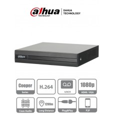 DVR Dahua 4 canales Pentahibrido H264 1080p