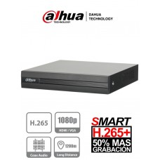 DVR Dahua 16 canales Pentahibrido H265+ 1080p