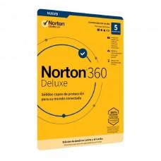 Norton 360 Deluxe - 5 Usuario - 1año