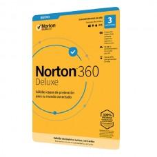 Norton 360 Deluxe - 3 Usuario - 1año