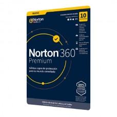 Norton 360 Premium - 10 Usuario - 1año