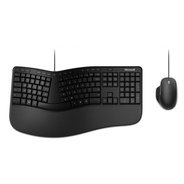 Teclado Y Mouse Microsoft Ergonomic USB Español